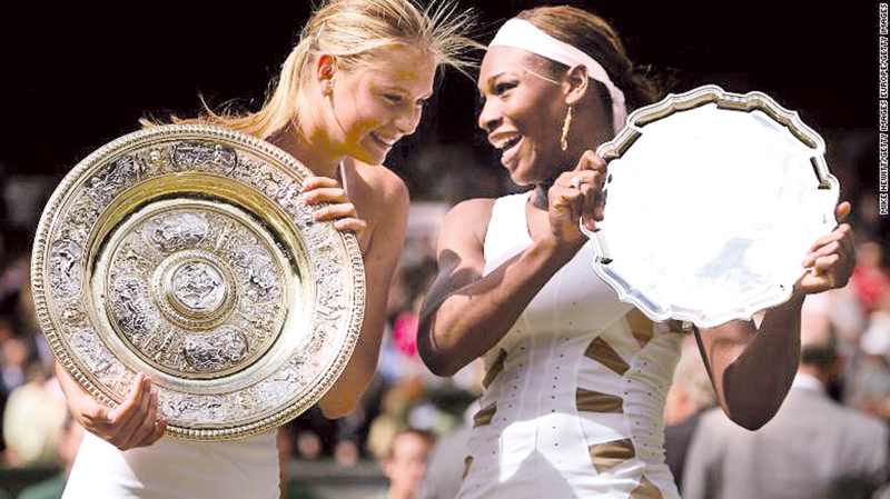What is your best Maria Sharapova moment?