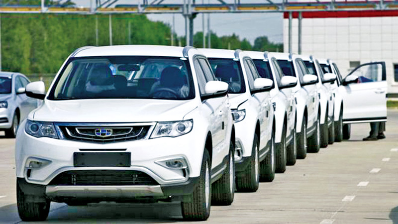 Geely is China's largest privately-owned car maker