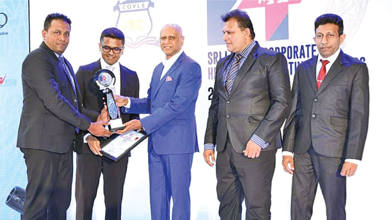 GAC Shipping wins the Silver award in the small category at the Sri Lanka Health and Productivity Award