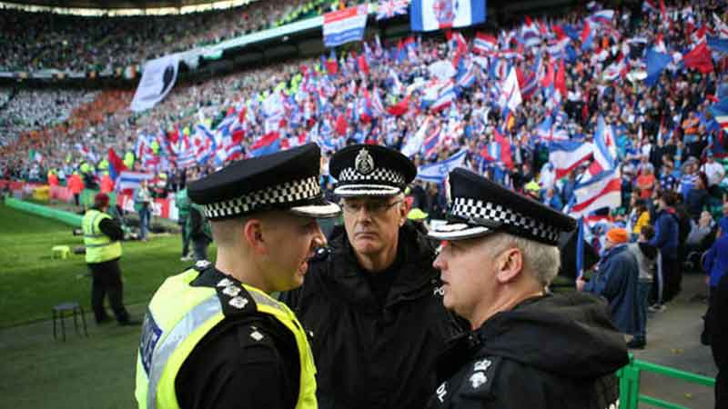 British police concerned about comments on restarting league.