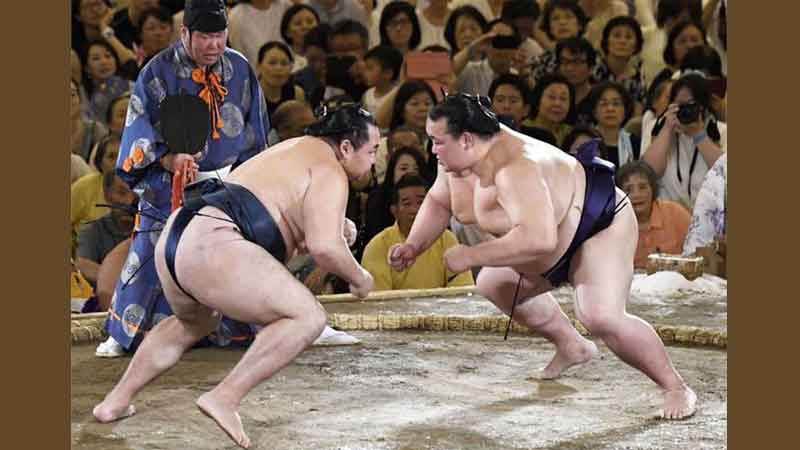 Ancient sport sumo wrestling suffered its first COVID-19 fatality.