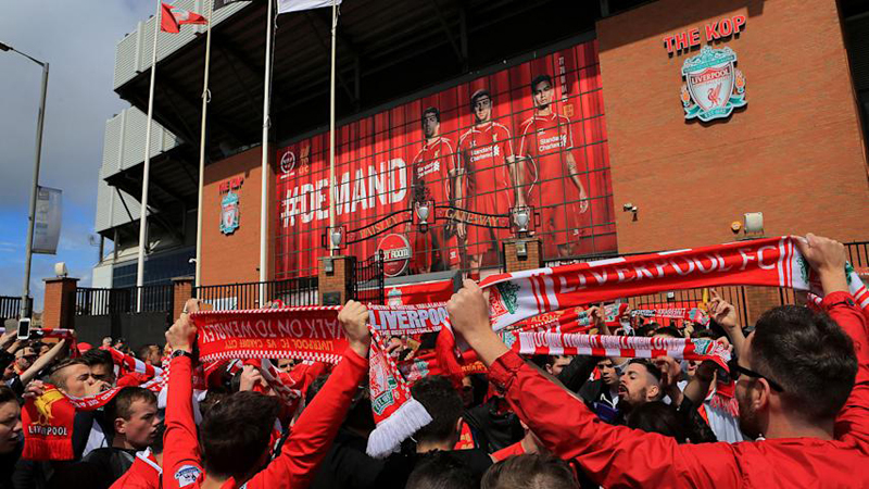 Greater Manchester Police say they are concerned fans would still congregate at stadiums.