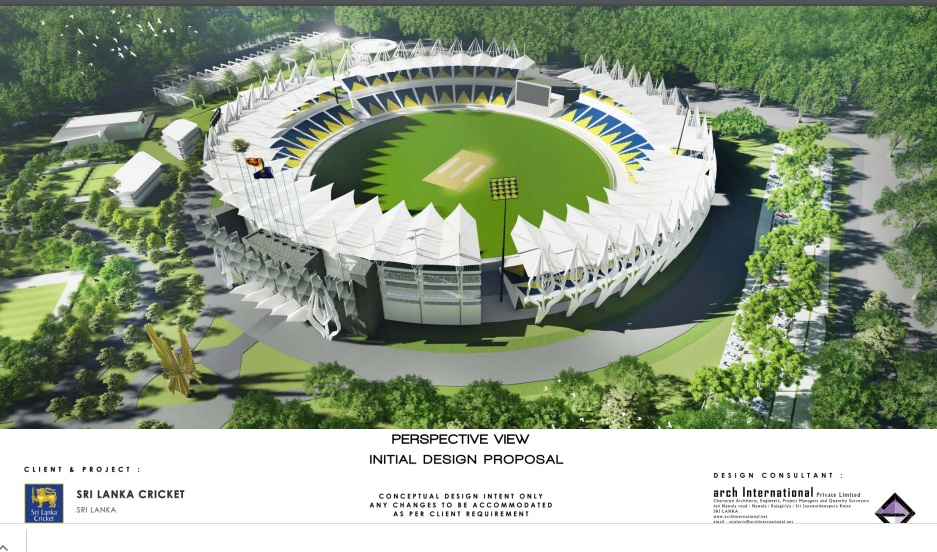 Sri Lanka Cricket's new stadium project suspended