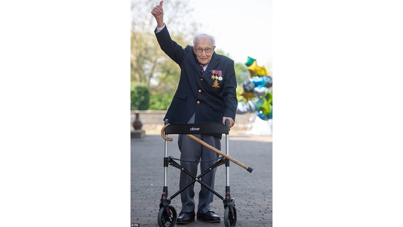'Captain Tom' to be knighted