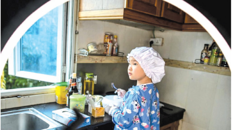 Moe Myint May Thu has been wowing people in Myanmar with her cooking skills.