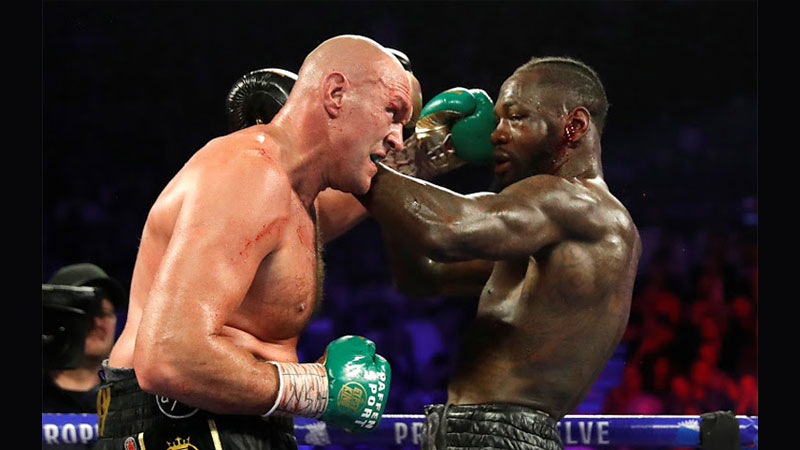 Tyson Fury and Deontay Wilder blockbuster