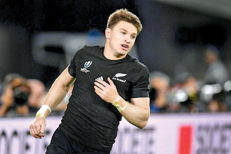 All Blacks playmaker Beauden Barrett will be making his debut for the Auckland Blues. - AFP
