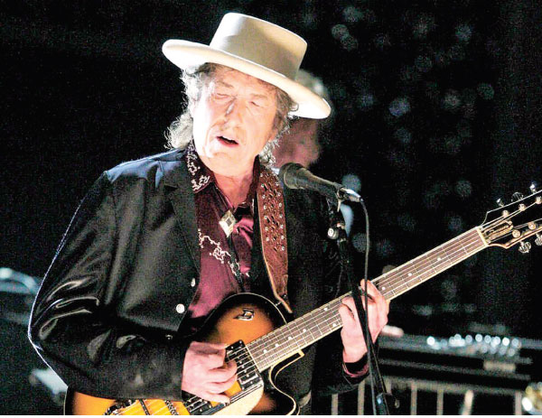 Legendary musician Bob Dylan is widely recognized as one of the greatest songwriters of the 20th century.