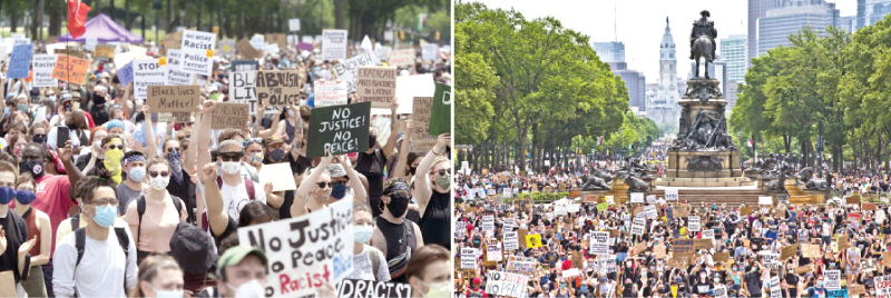 Anti-racism protests in the US