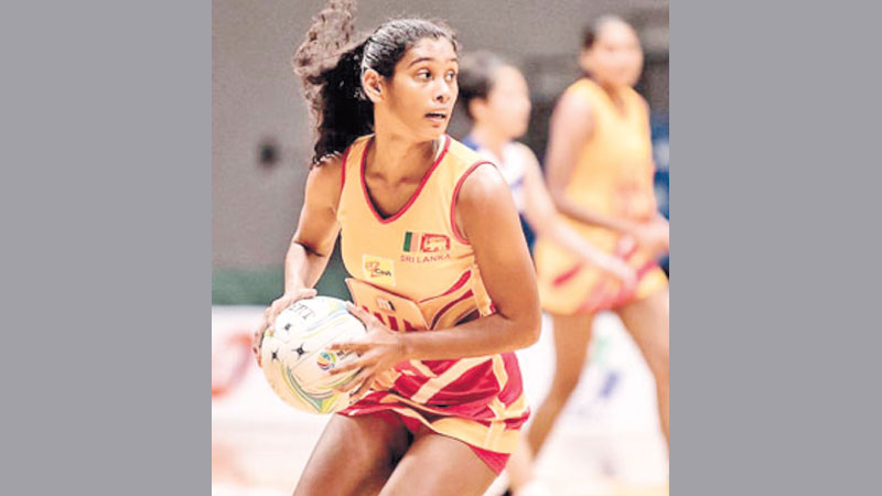 National Netball players at the last Asian Championship in Singapore