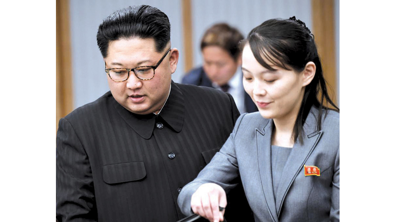 Kim Yo Jong is a close adviser to her brother, North Korean leader Kim Jong Un.