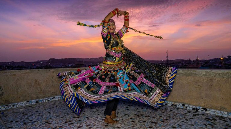The Kalbeliya dance, which is meant to mimic the swaying movements of a serpent was classified as 'intangible cultural heritage' by UNESCO in 2010.