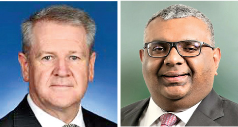 David Holly, the High Commissioner, Australia and Chairman of Export Development Board, Prabhash Subasinghe