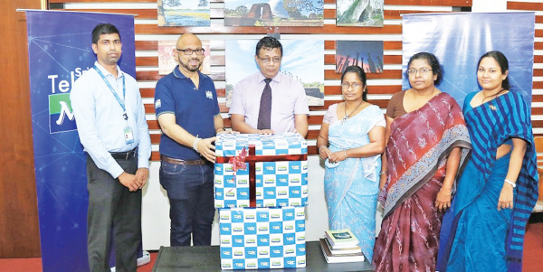 Madura Hewage Product Manager, Digital Health Services, Mobitel Shashika Senerath, Chief Marketing Officer, Mobitel Dr. Senarath Dissanayaka,  Director General, Archaeology Department  P.A.S. Borelessa, Additional Director General  K.G.R. Kuruppuarachchi, Director (Chemical Conservation) T.M.H. De Silva - Asst. Director (Chemical Conservation).