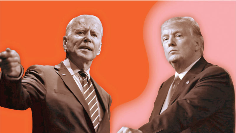 """Joe Biden and Donald Trump to battle it out in Pennsylvania  which is known as """"The Keystone State""""."""