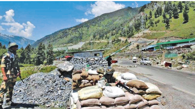 Galwan Valley has seen an India-China standoff