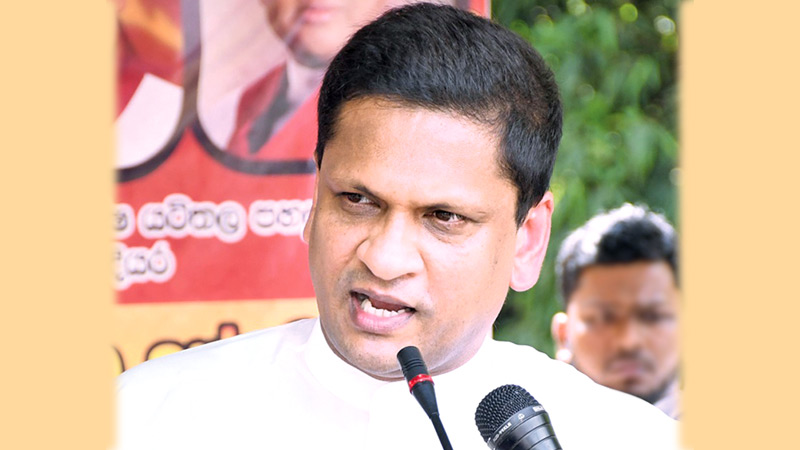State Minister Nimal Lanza speaking at the inauguration ceremony.