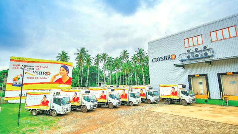 Crysbro's temperature-controlled distribution center, marketing office in Kaduwela