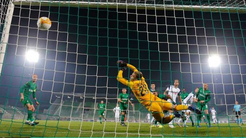 Harry Kane's header against Ludogorets was his 200th Tottenham goal in his 300th game for the club.