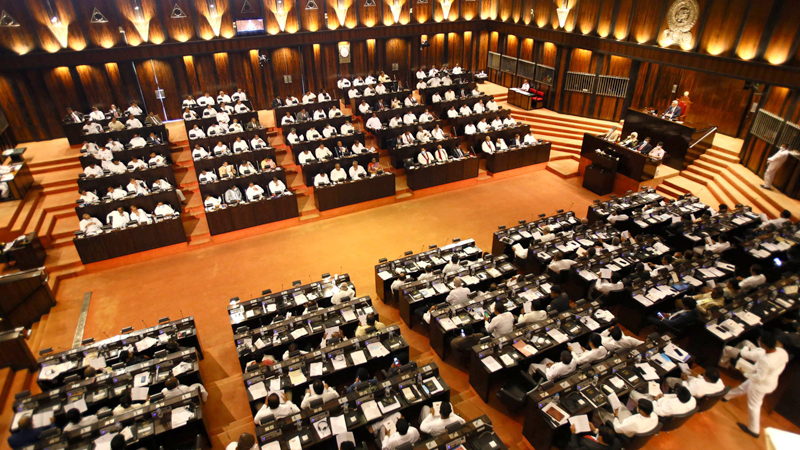 Parliament. (Picture by by Sulochana Gamage)