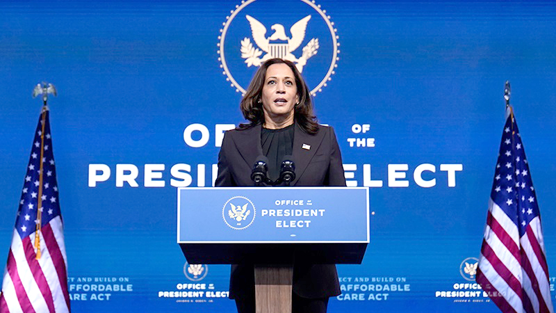 Kamala Harris will notch a slew of firsts when she is sworn in on January 20.