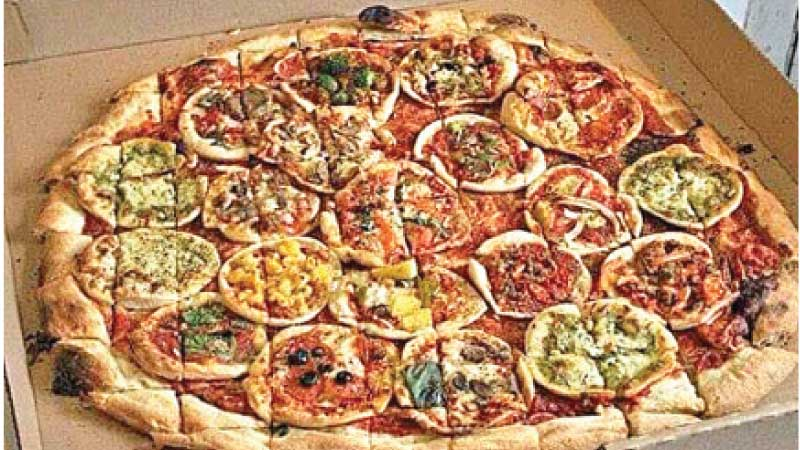 Mother of pizzas