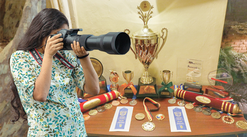 The awards and medals she has won