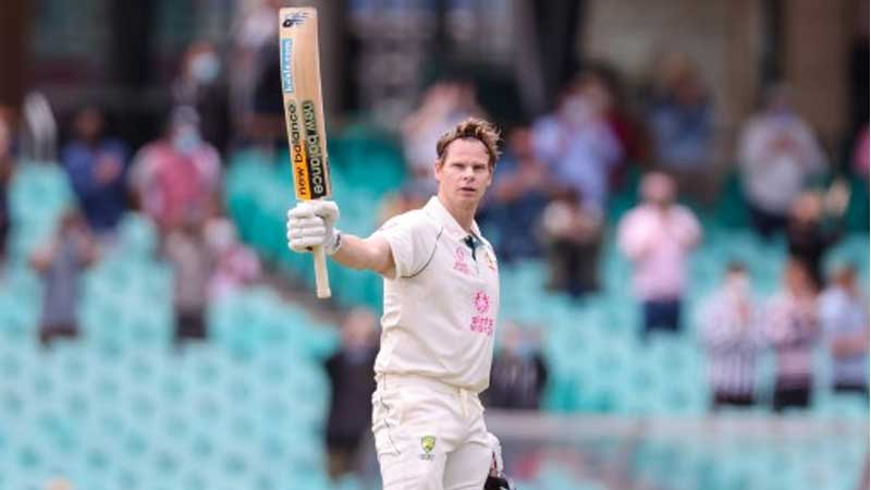 Australia's Steve Smith plays a shot against India on day two of the third cricket Test match at Sydney.  AFP