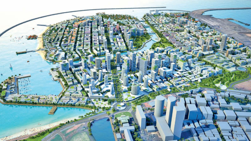 The Port City project