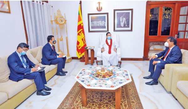 Bangladesh High Commissioner in Sri Lanka Tareq Md Ariful Islam paid a courtesy call on Prime Minister Mahinda Rajapaksa at his residence in Wijerama. Deputy High Commissioner of Bangladesh Mohammad Hazrat Ali Khan was also present.