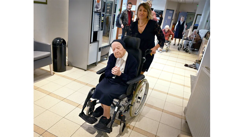 French nun, Europe's oldest person survives COVID-19