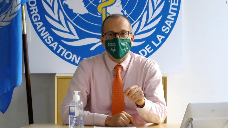 WHO Europe Director Hans Kluge