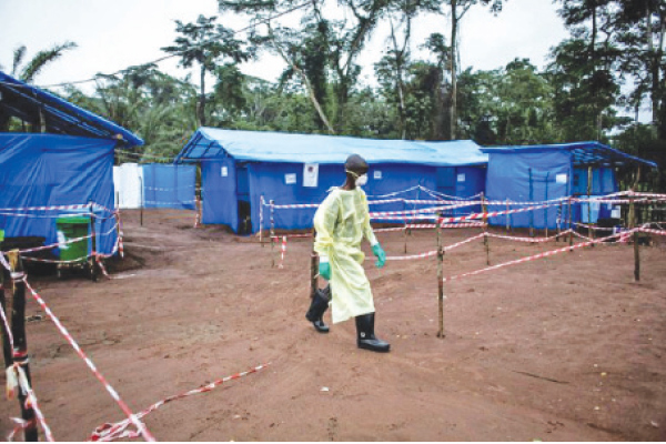 The DR Congo's 10th epidemic, declared eradicated last June, was considered the most serious with more than 2,200 deaths recorded.