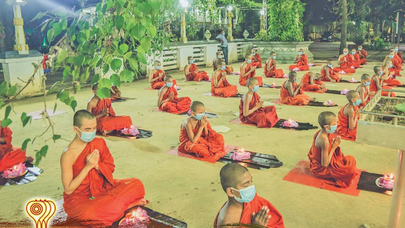 A recital of Rathana Sutta with the participation of 60 Buddhist monks was held at the Sri Bodhiraja Viharaya in Embilipitiya on Sunday to bless the Indians affected by the COVID-19 pandemic.
