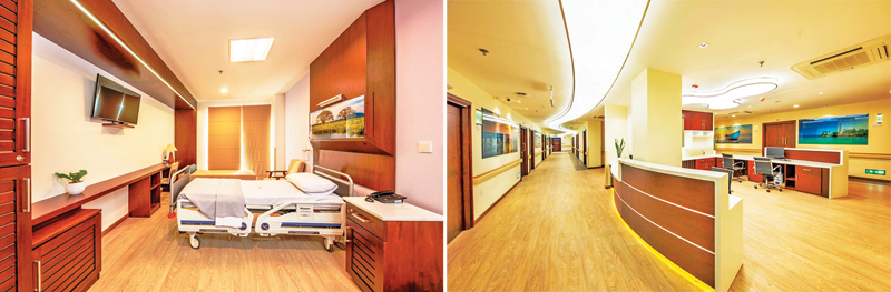 Lanka Hospitals opens luxury wing | Daily News
