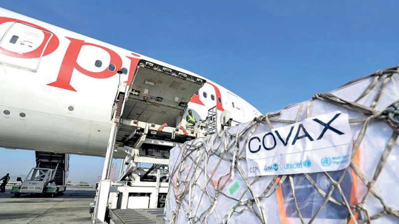 Organisers of the Covax vaccine sharing programme are appealing for urgent help.
