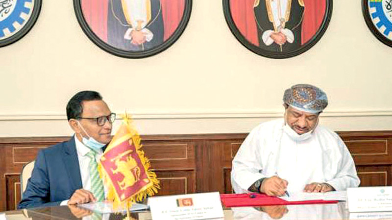 Oman, Sri Lanka sign pact to enhance commercial cooperation, business  communication   Daily News