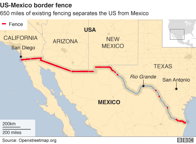 Mexico warns US over border wall funding Daily News