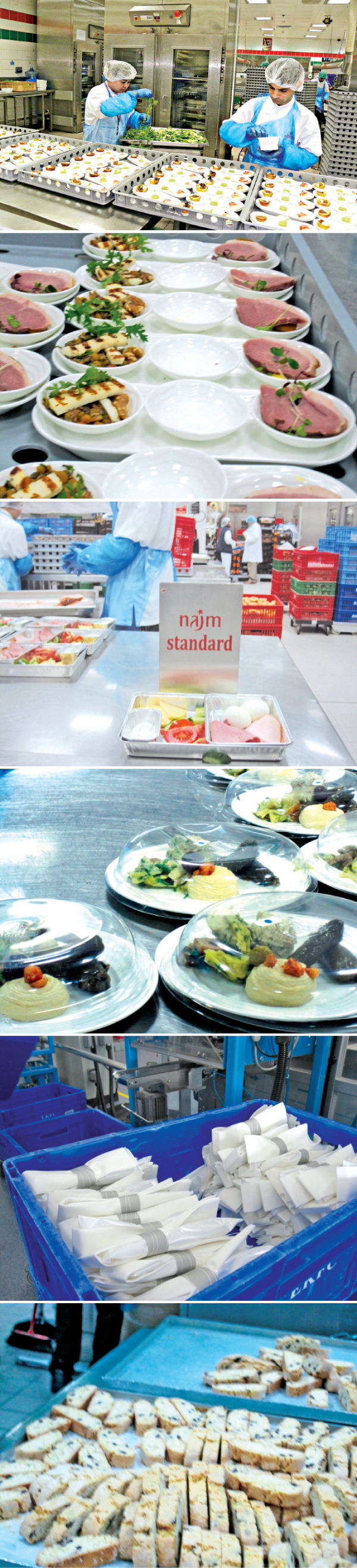 Emirates catering - how food and beverage adds value to the inflight ...
