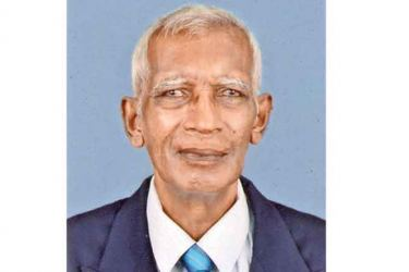 Hyasti Aponso  former cricket captain of Prince of Wales