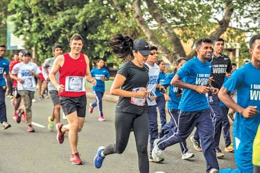 Wings for Life World Run APP RUN - Colombo continues
