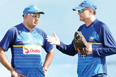 """Cricket manager Asanka Gurusinha and Graham Ford: """"Fordy and I got on very well I didn't have issues with him."""""""