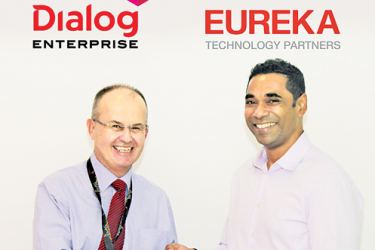Jeremy Huxtable, Group Chief Officer, Dialog Enterprise, Dialog Axiata PLC and Dilendra Wimalasekere, Chief Executive Officer, Eureka.