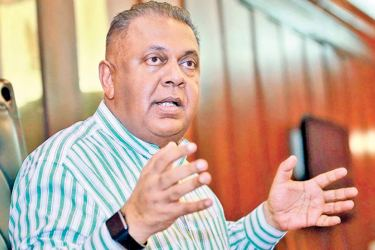 Finance and Media Minister Mangala Samaraweera.