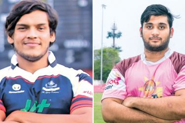 Rohitha Rajapaksa CH and FC (Captain) and Jason Melder Havelocks (Captain)