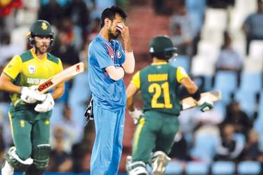 Yuzvendra Chahal become the first Indian bowler and fifth overall to be hit for 7 sixes in a T20I match