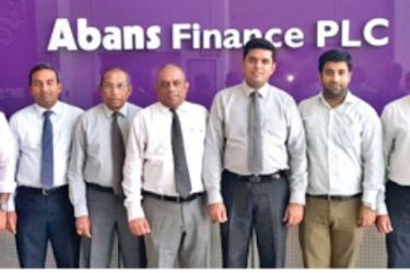 Abans Finance team at the launch.
