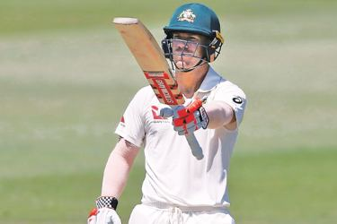 Former England captain Michael Vaughan suggested Australia's David Warner (pictured) had a reputation as a sledger and it was only a matter of time before insults were hurled back. AFP