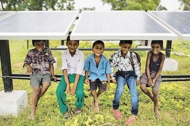 Dharnai, India's first solar powered village.