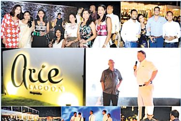 Vignettes of the opening of Arie Lagoon, Negombo